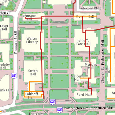 The Gopher Way can help you get to Walter Library