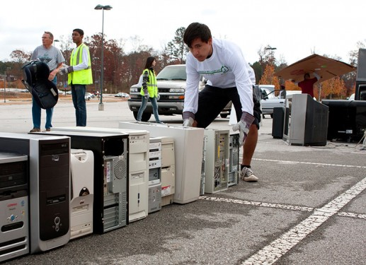 computer and device recycling and donation