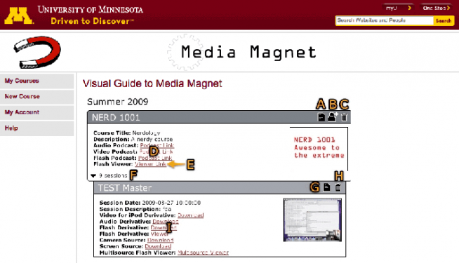 Media Magnet home page