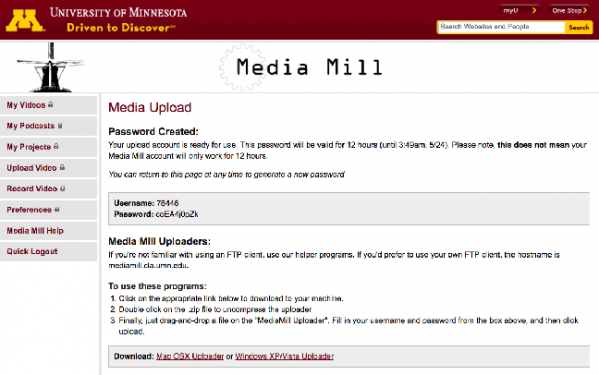 Media Mill home page