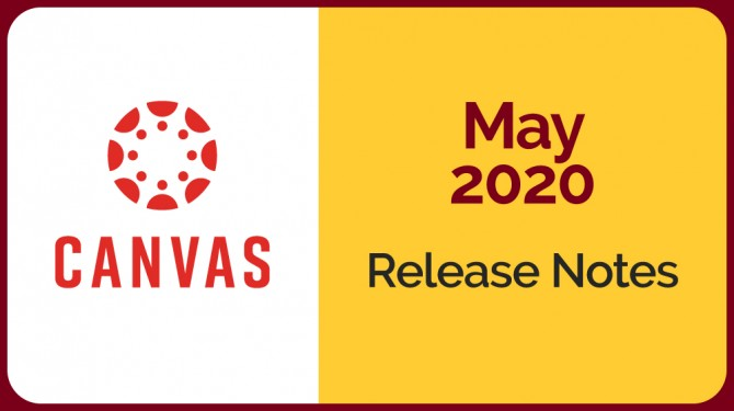 Canvas logo with May 2020 date