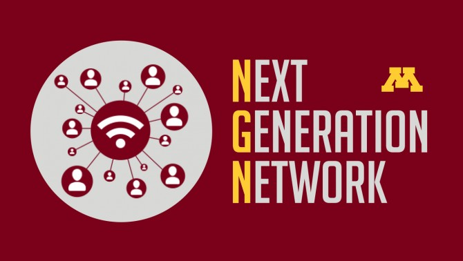 Next Generation Network graphic