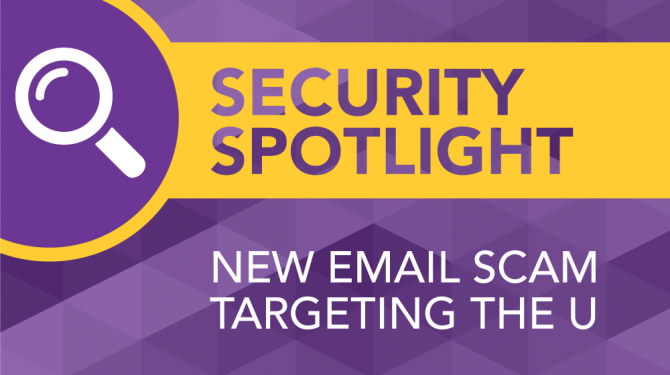 Security Spotlight New Email Scam